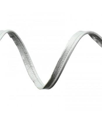 Passepoil simili cuir 10mm Argent a