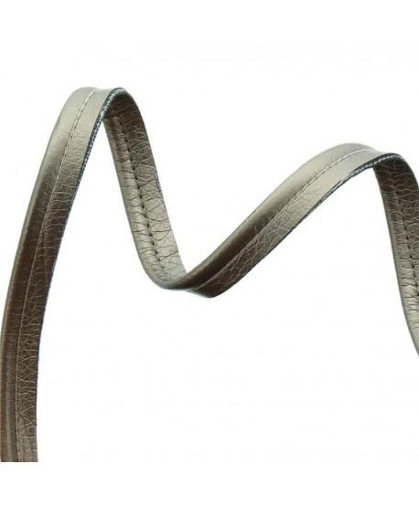 Passepoil simili cuir 10mm Taupe b