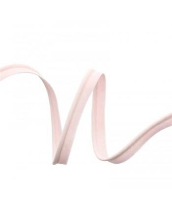 Passepoil tout textile 10mm Rose pâle b