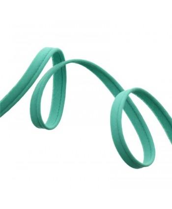 Passepoil tout textile 10mm Bleu vert a